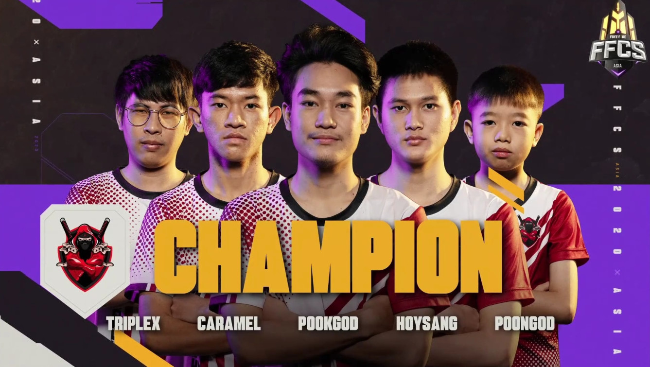 Exp esports from Thailand won the FFCS Asia 2020 Championship