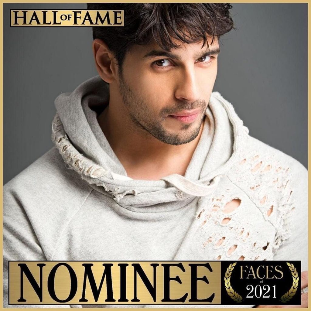 SIDHARTH MALHOTRA - TC Candler Most Handsome Face Nominee 2021